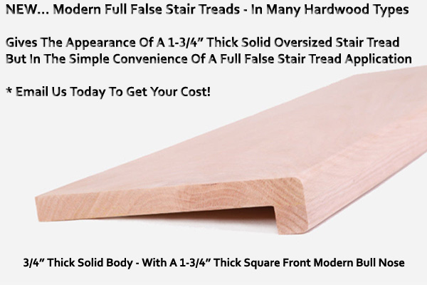 Modern False Stair Tread